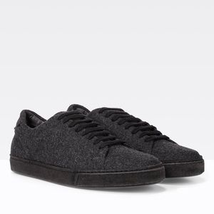 Vince Noble Wool Sneakers, Sz 10M, Graphite
